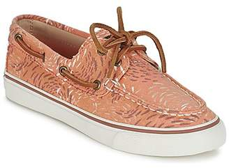 Sperry Top Sider BAHAMA FISH CIRCLE women's Boat Shoes in Pink