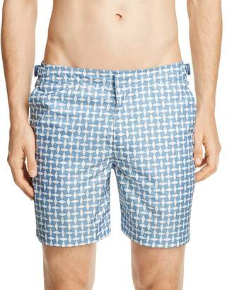 Orlebar Brown Jack Huron Riviera Swim Trunks $145 thestylecure.com