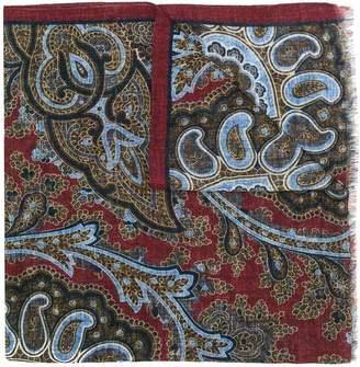 Dell'oglio paisley print scarf