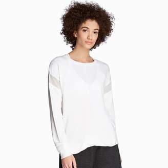 Danskin Women's Twist Front Sweatshirt