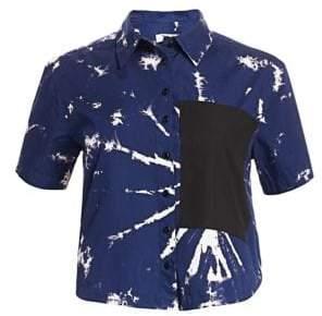 Proenza Schouler PSWL Cotton Short Sleeve Shirt