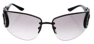 Salvatore Ferragamo Rimless Gradient Sunglasses