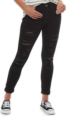 Mudd Juniors' Mid-Rise Ankle Jeggings