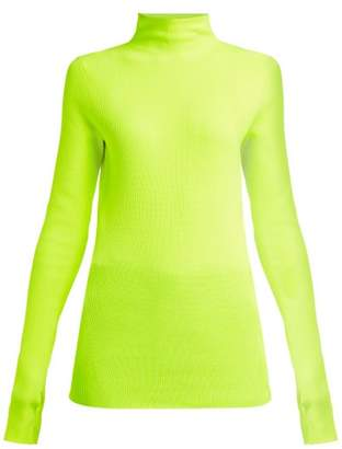 Helmut Lang Essential Knit Top - Womens - Green