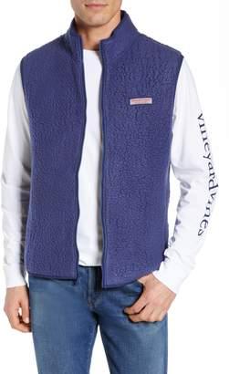 Vineyard Vines High File Fleece Vest