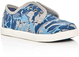 TOMS Boys' Paseo Camo Print Sneakers - Walker, Toddler $39 thestylecure.com