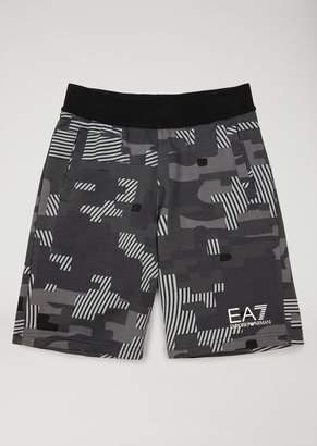Emporio Armani Ea7 Boys' Patterned Bermuda Shorts