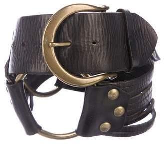 Linea Pelle Embellished Waist Belt