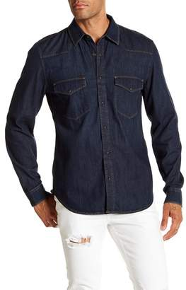 7 For All Mankind Western Denim Regular Fit Shirt
