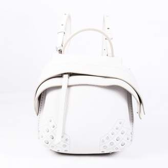 Tod's White Leather Backpacks