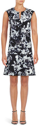 Lord & Taylor Floral Dropped Waist Dress $134 thestylecure.com