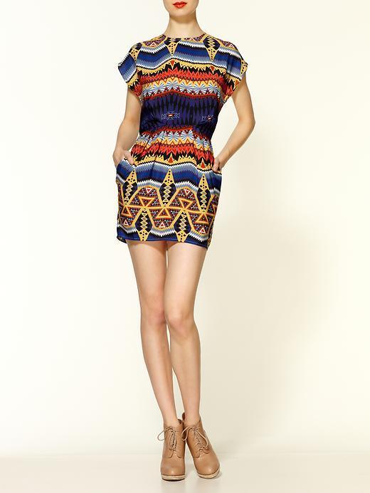 MM Couture Tribal Mini Dress