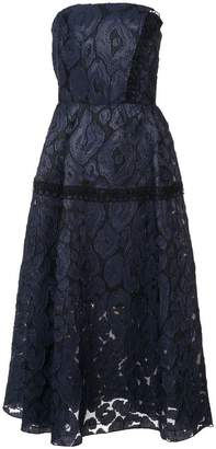 Roland Mouret lace full skirt midi dress