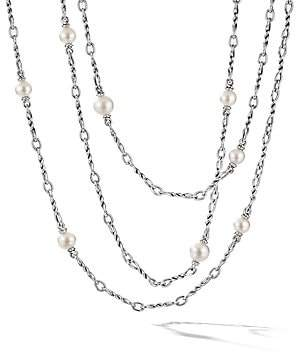 David Yurman Women's Continuance Sterling Silver & 9-12MM Cultured Freshwater Pearl Necklace