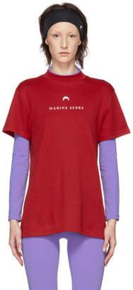 Marine Serre Red Futurewear T-Shirt