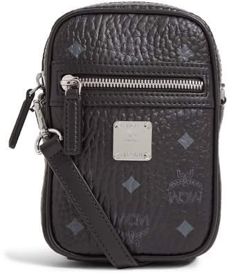 MCM Mini Visetos Cross Body Bag