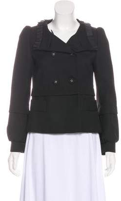 RED Valentino Wool Double-Breasted Jacket