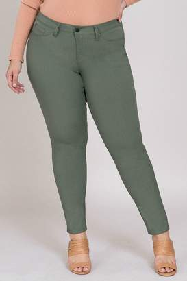 YMI Jeanswear Junior Hyperstretch Moss
