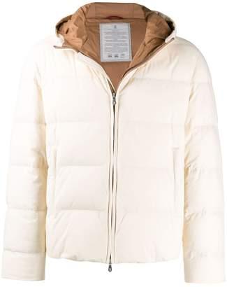 shell puffer jacket