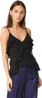 MLM LABEL Ruffled Camisole $165 thestylecure.com