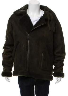 Yves Salomon Yves Four Merinos Shearling Jacket w/ Tags