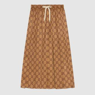 Gucci (グッチ) - GGテクニカルジャージー スカート