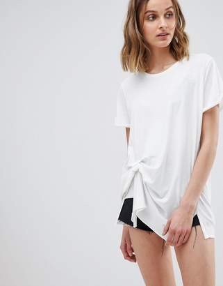 AllSaints Knot Front T-Shirt