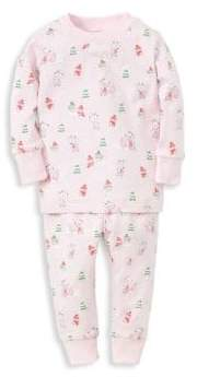 Kissy Kissy Baby Girl's& Little Girl's Two-Piece Woodland Print Pajama Set