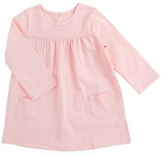 Aden Anais aden + anais Long Sleeve Pocket Dress Girl's Dress