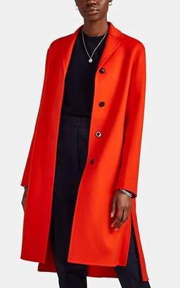 Jil Sander Women's Guatemala Cashmere Melton Coat - Orange