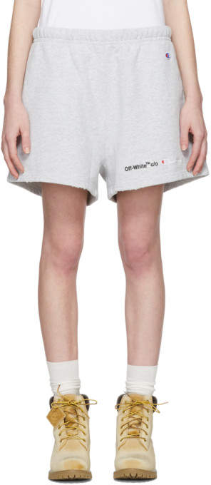 Grey Champion Reverse Weave Edition Lounge Shorts