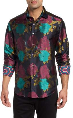 Robert Graham Tango Limited Edition Classic Fit Silk Sport Shirt