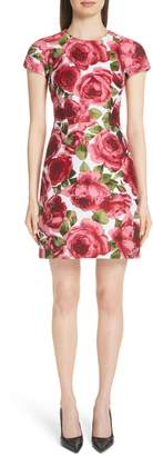 Michael Kors Rose Jacquard Tee Dress