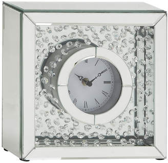 UMA Enterprises Mirror Table Clock
