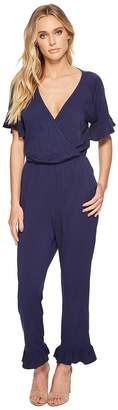 Michael Stars Rylie Rayon Ruffle Jumpsuit Women's Jumpsuit & Rompers One Piece