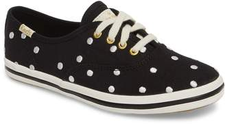 Keds R) x kate spade new york champion polka dot lace-up shoe