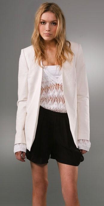 Kimberly Ovitz Renwick Seersucker Jacket