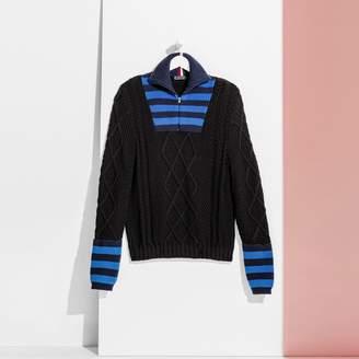 Tommy Hilfiger Half Zip Wool Sweater