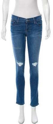 Rebecca Minkoff Low-Rise Skinny Jeans