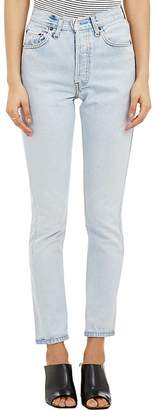 RE/DONE Women's High Rise Jeans $265 thestylecure.com