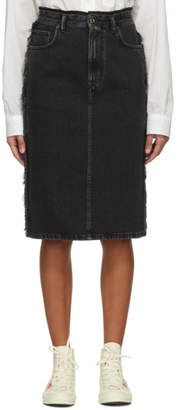 Acne Studios Black Denim Ilyssia Skirt