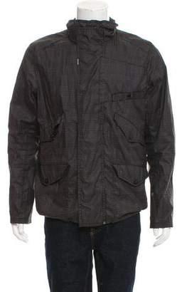 G Star Plaid Windbreaker Jacket