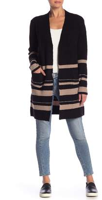 Sweet Romeo Stripe Knit Cardigan