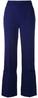 Ports 1961 layered flared trousers