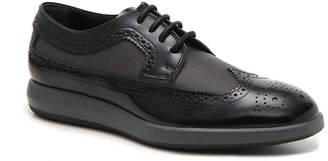 Hogan Mixed Material Wingtip Oxford - Men's