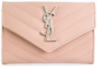 Saint Laurent quilted wallet
