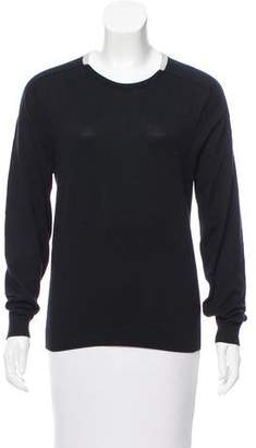 Calvin Klein Collection Long Sleeve Crewneck Sweater
