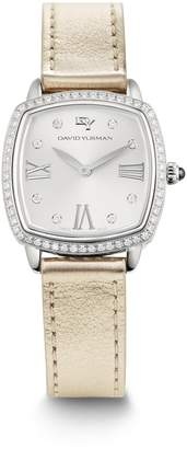 David Yurman 'Albion' 27mm Swiss Quartz Watch with Diamonds
