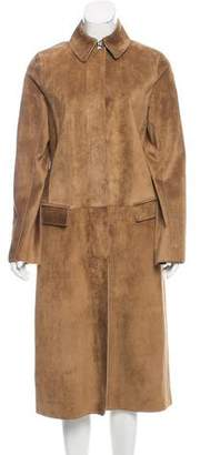 Reed Krakoff Long Button-Up Coat