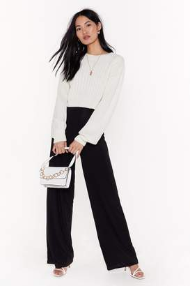 Nasty Gal Go Wide High-Waisted Pants